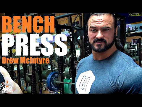 Drew McIntyre Bench Press (TO THE MAX!)