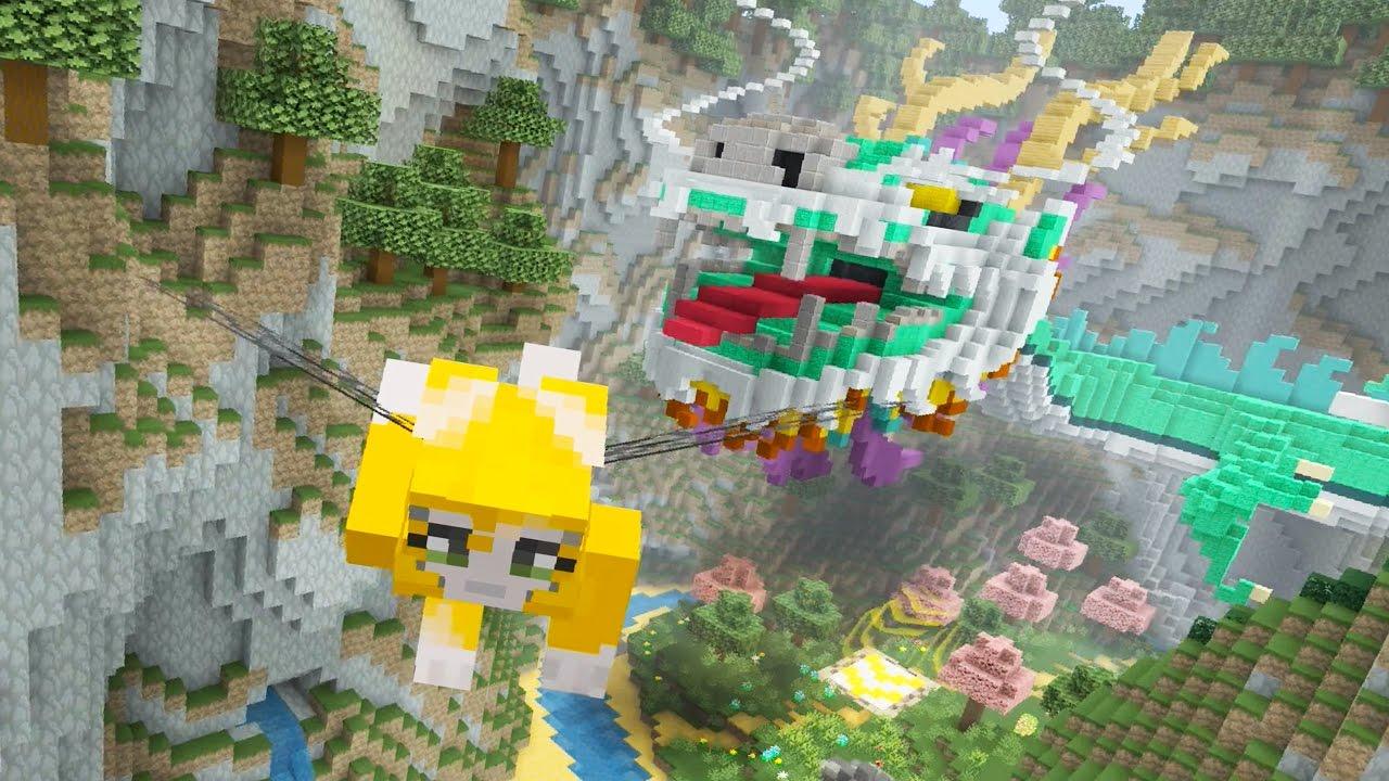 Good Minecraft   New Glide Maps!   Dragon + Kraken