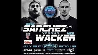 Chokes by the Ocean | Mike Wacker (Black Hole) vs Diego Sanchez (Jackson Wink) Promo
