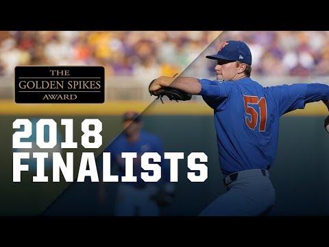 2018 Golden Spikes Award Finalists
