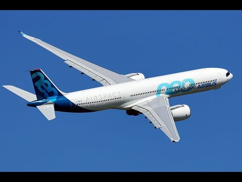 Airbus A330neo performing go-arounds in Toulouse