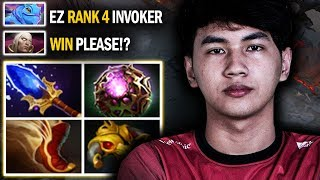 UNBELIEVABLE!! Rank 4 SEA Inyourdream Invoker Almost Got Destroyed By Pro Puck Mid | Dota 2 Invoker