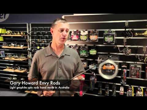Rods Gary Howard Envy Light Spin Rods