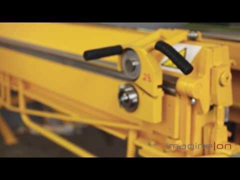 Механический листогиб EuroMaster LBA