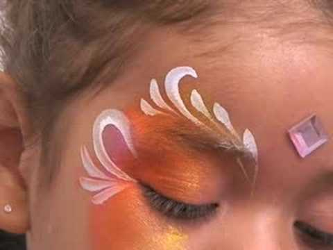 Fantasy Princess Face Painting Design Tutorial Step by ...