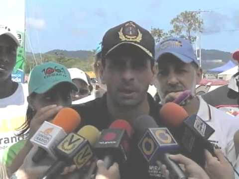 Gobernador ofreció primer balance del operativo  carnaval 2013 desde Playa Carenero