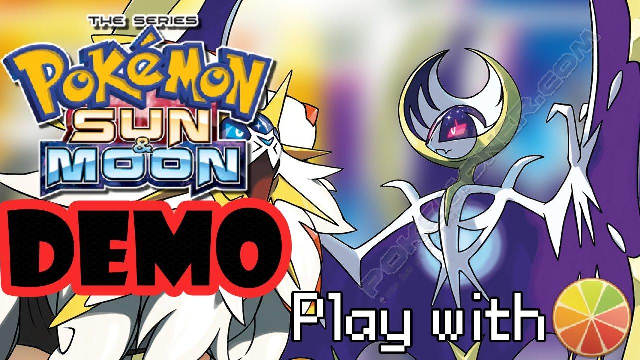 Pokemon Sun and Moon Demo - Pokemoner com