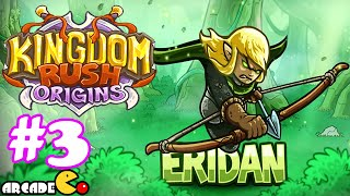 kingdom Rush Origins - Unlocked New Hero Faustus Royal Gardens 3 Stars Walkthrough