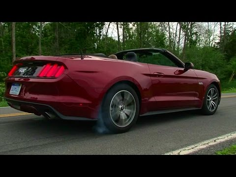 2015 Ford Mustang GT Convertible - TestDriveNow.com Review by Auto Critic Steve Hammes