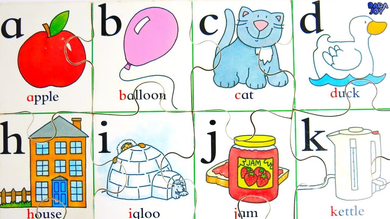 El abecedario en ingles para niños|Aprender el Alfabeto en Inglés ...
