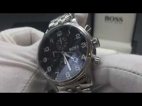 Chronos Watches Hugo Boss Mens Steel 1512446 Watch