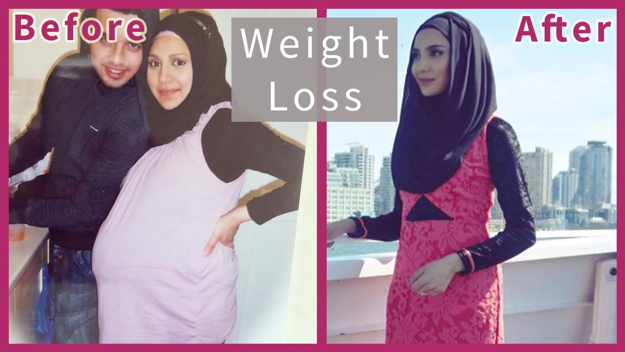 WEIGHT LOSS AFTER PREGNANCY! | Amena - YouTube
