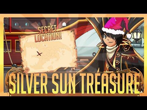 =AQW=  Silver Sun Treasure(Bandana) Location FULL Walkthrough (TLAPD 2014)