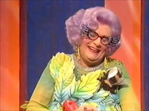 Dame Edna on Cilla Black
