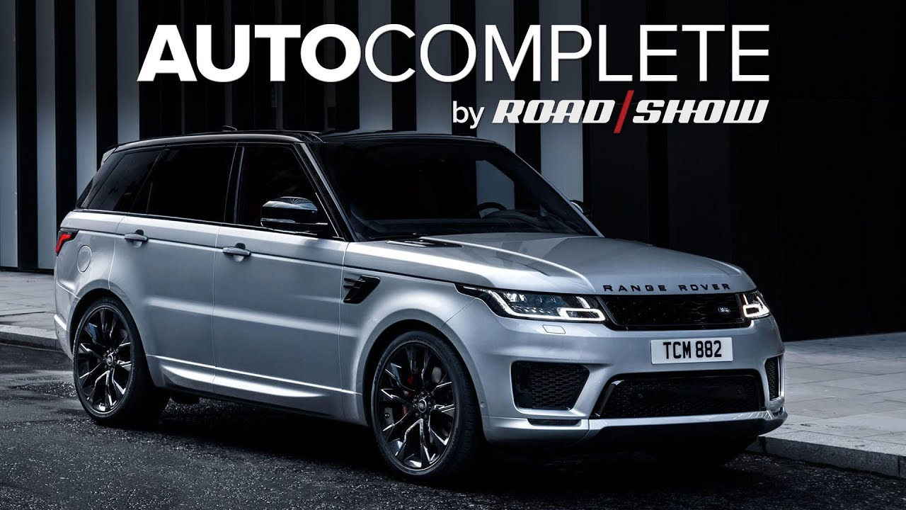 AutoComplete: The Range Rover Sport HST gets a turbo straight-six and mild hybrid system