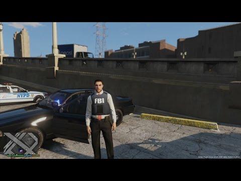 GTA 5 - LSPDFR 0.3.1 - FBI (Bureau Federal d'Investigation) - Jour 12
