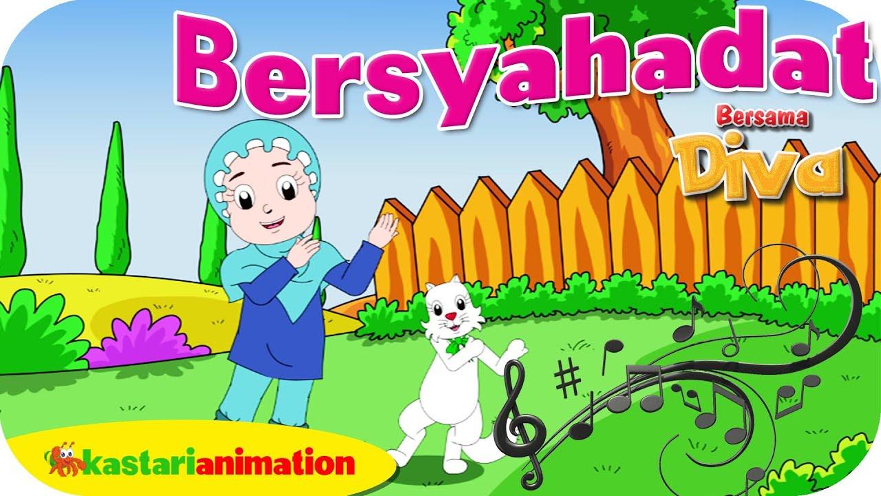 BERSYAHADAT  - Lagu Anak Indonesia - HD | Kastari Animation Official
