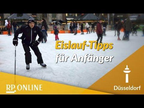 Tipps vom DEG-Profi: Schlittschuhlaufen für Anfänger