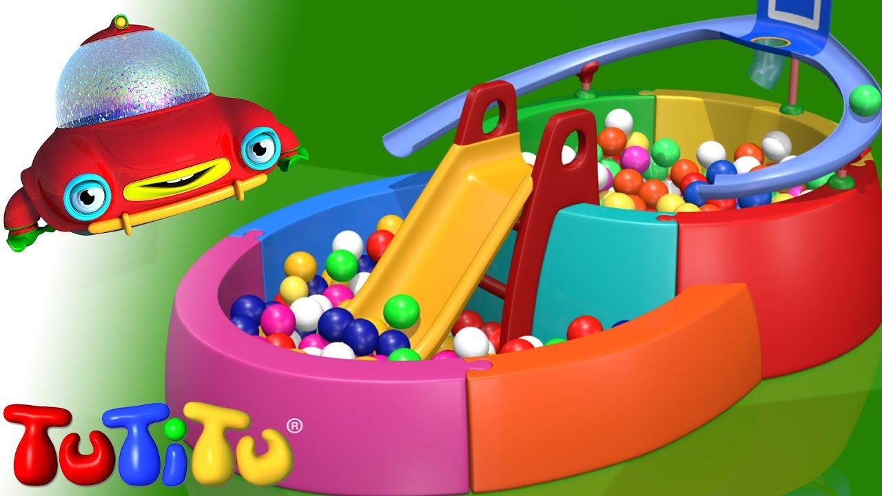 Tutitu jouets piscine balles youtube for Bolas piscinas infantiles