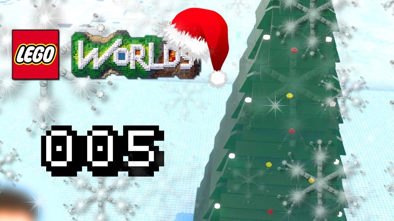WIE SCHMÜCKEN WIR DEN BAUM !?   Letu0027s Play Lego Worlds Christmas Special  Gameplay Deutsch #005