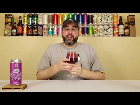 Slushy (Blackberry Jam) | 450 North Brewing Company | Beer Review | #179
