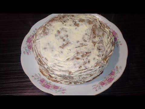 """""""Печеночный торт"""" из куриной печени. Быстро и вкусно. Как приготовить закуску из печени."""