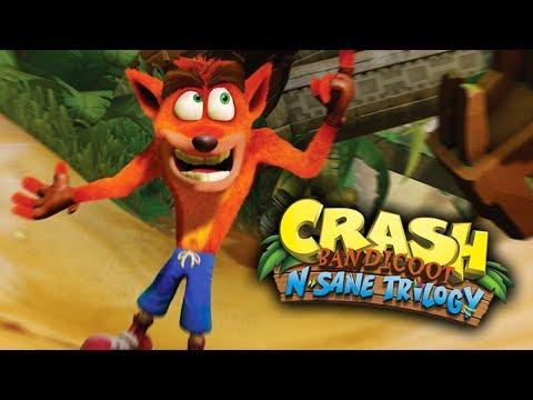 N Sane Trilogy: Crash Bandicoot 1 JUEGO COMPLETO! #LechuCrashBandicoot