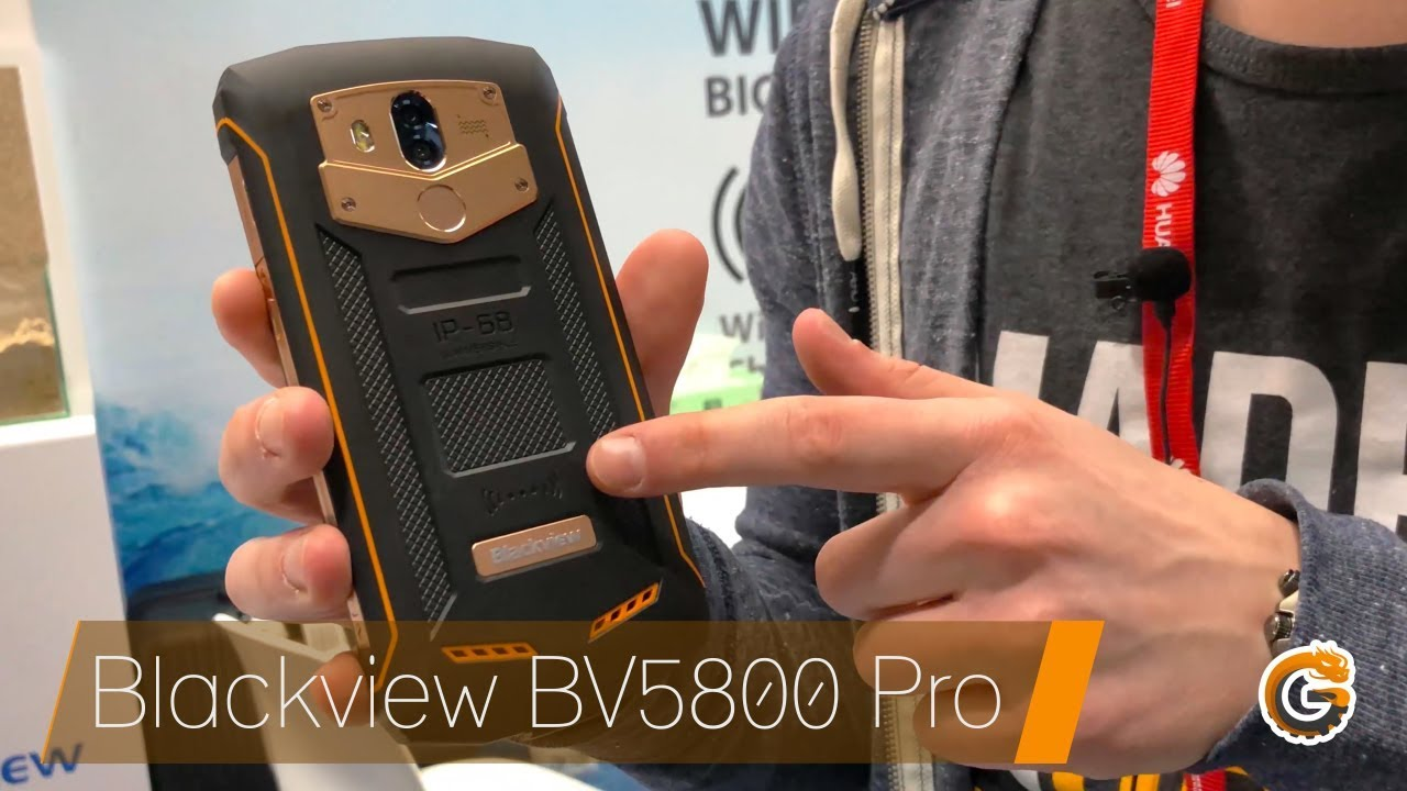 blackview bv5800 pro outdoor smartphone mit qi