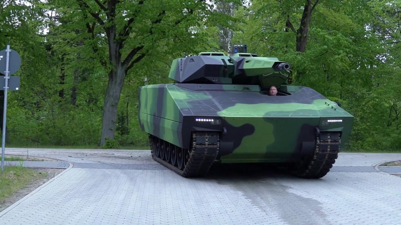 Rheinmetall Lynx KF41 at IDET 2019 - YouTube