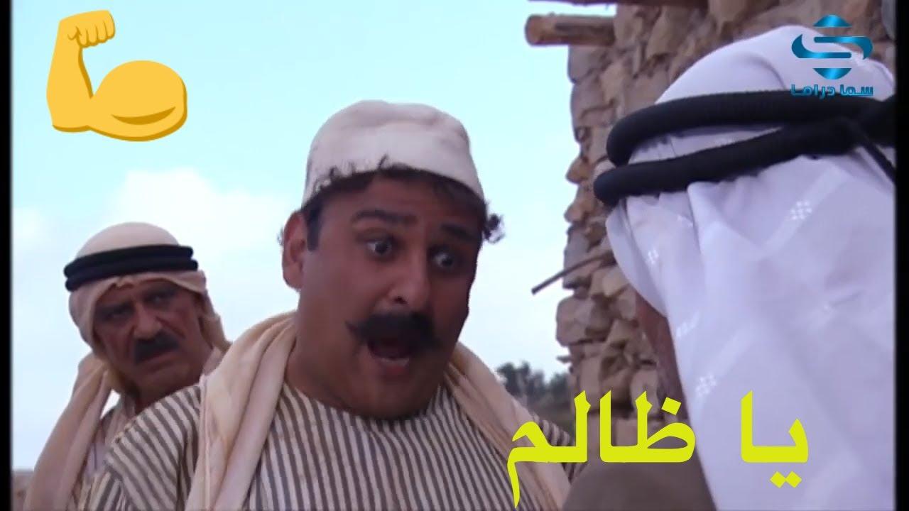 التغريبة الفلسطينية - خناقة احمد مع ابو عايد - جمال سليمان - خالد تاجا