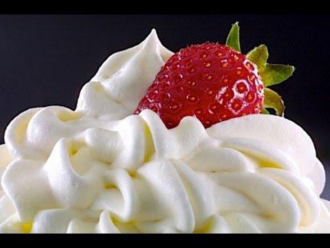 КАК ПРАВИЛЬНО  ВЗБИТЬ СЛИВКИ.  How To Whip Cream.