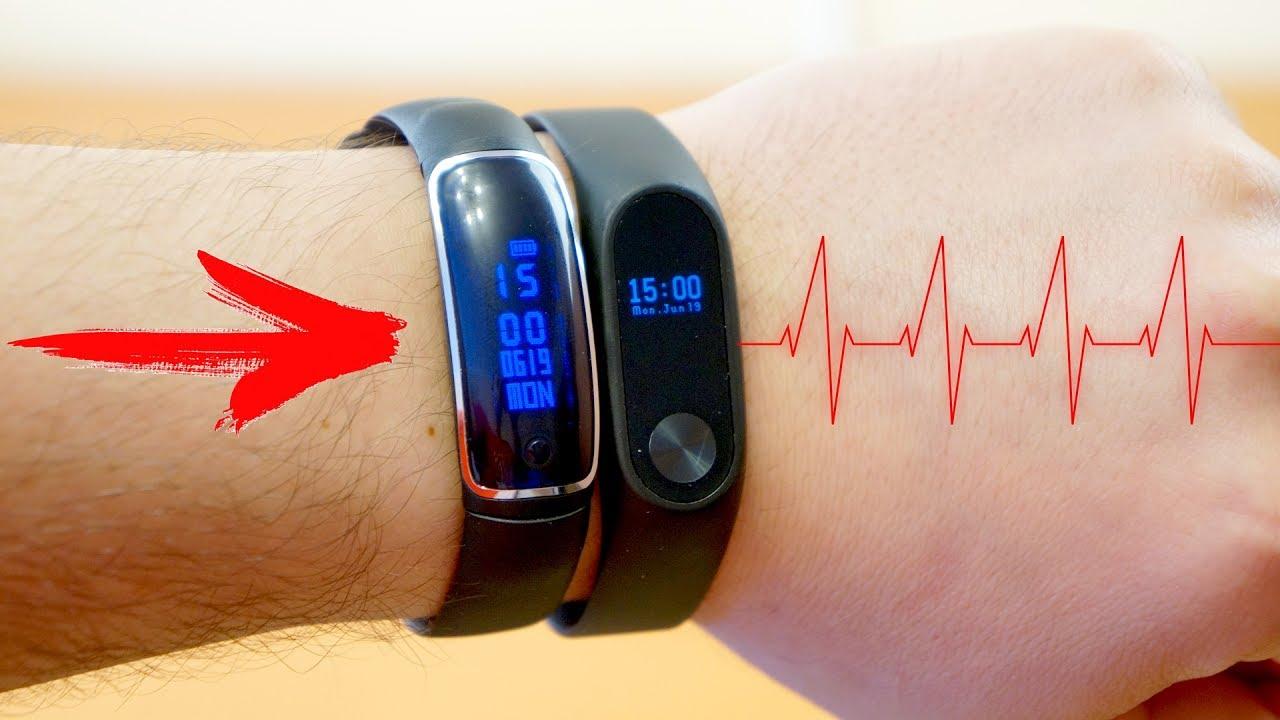 Хороший выбор фитнес-браслетов, спортивныех часов с пульсометром от известных. Затраченные калории, пульс, время сна, фазы сна, давление.