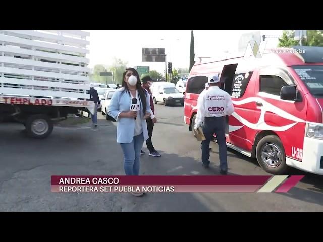 Transporte público puede ser sancionado en #Puebla si no cumplen con la #SanaDistancia