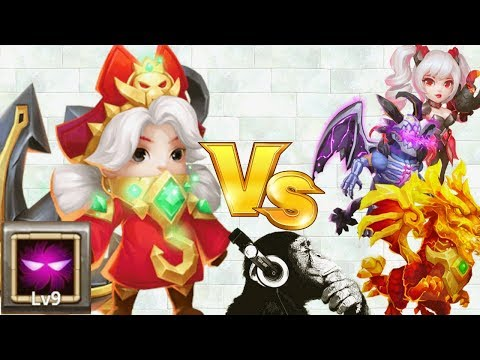 Commodora | 9 Unholy Pact | VS 30 Maxed Heroes | Castle Clash