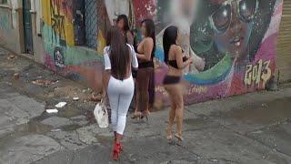 Bogota Colombia(Santa Fe) Travel Vlog 2017 Day 9:Drive By El Barrio Via Taxi! Did I Pick Up A Girl? thumbnail