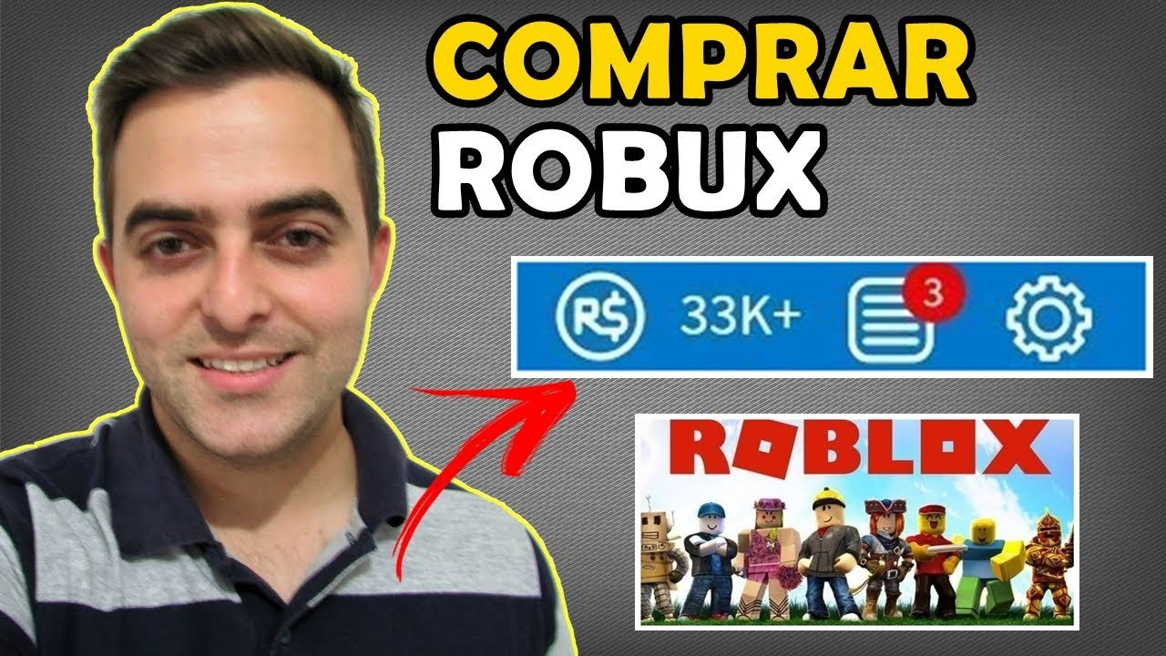 Como Ganhar Robux De Graça No Roblox 100 Seguro Cesar Como Comprar Robux Com Seguranca Dinheiro Do Roblox Youtube
