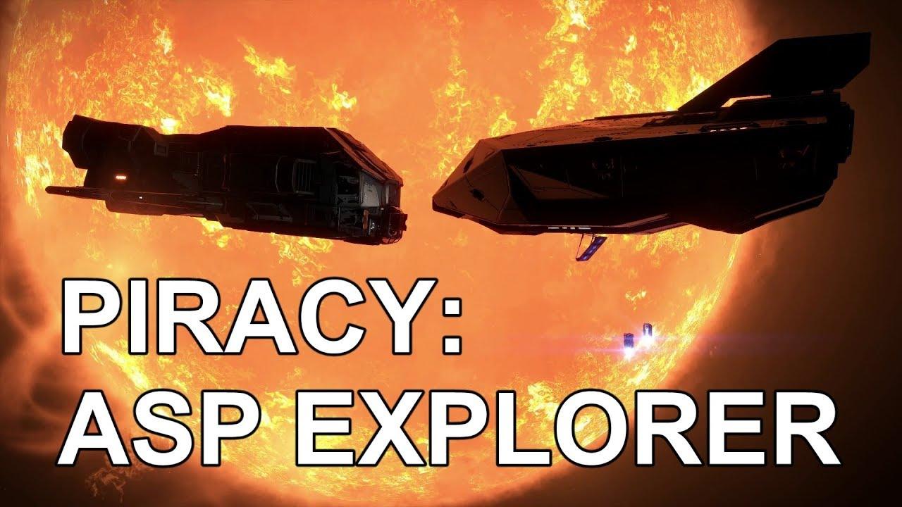 Video - Elite Dangerous Piracy - Asp Explorer Review | Elite