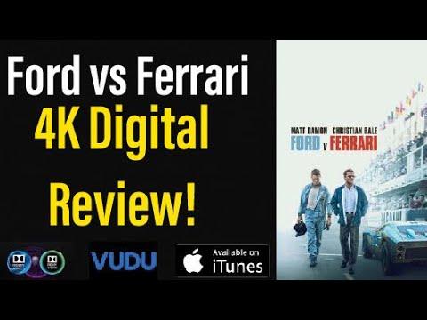 Ford Vs Ferrari 2019 4k Digital Review Youtube