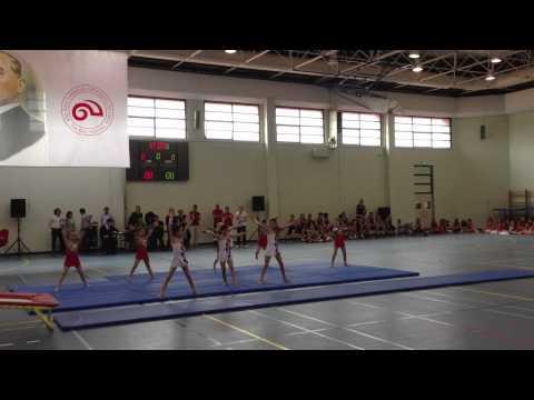 Koc Okullari Jimnastik Gosterisi 2013 Mayis