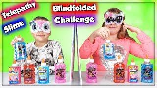 Download Video TELEPATHY BLINDFOLDED SLIME CHALLENGE ! SLIME À L'AVEUGLE ! MP3 3GP MP4