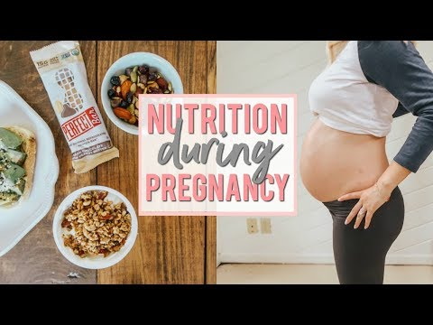 NUTRITION DURING PREGNANCY | Calories, Weight Gain, Nutrients | Becca Bristow MA, RD, LDN