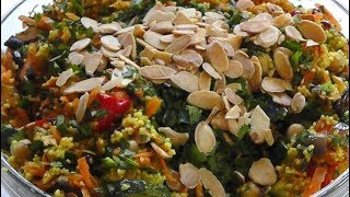 Moroccan COUSCOUS RECIPE quick easy How to make
