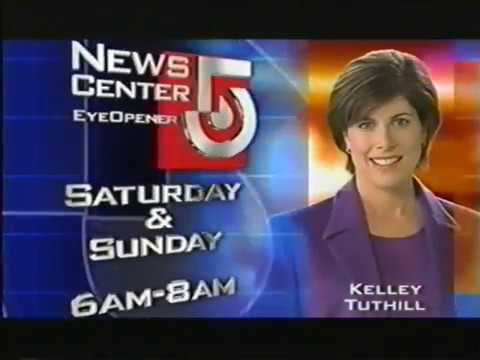 WCVB TV Boston MA Eye Opener Weekends & Storm Track 5 Promos Jan 13 2004