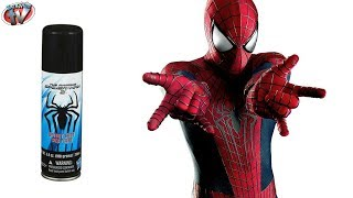 The Amazing Spider-Man 2: Web Fluid In A Can Toy Review, Hasbro