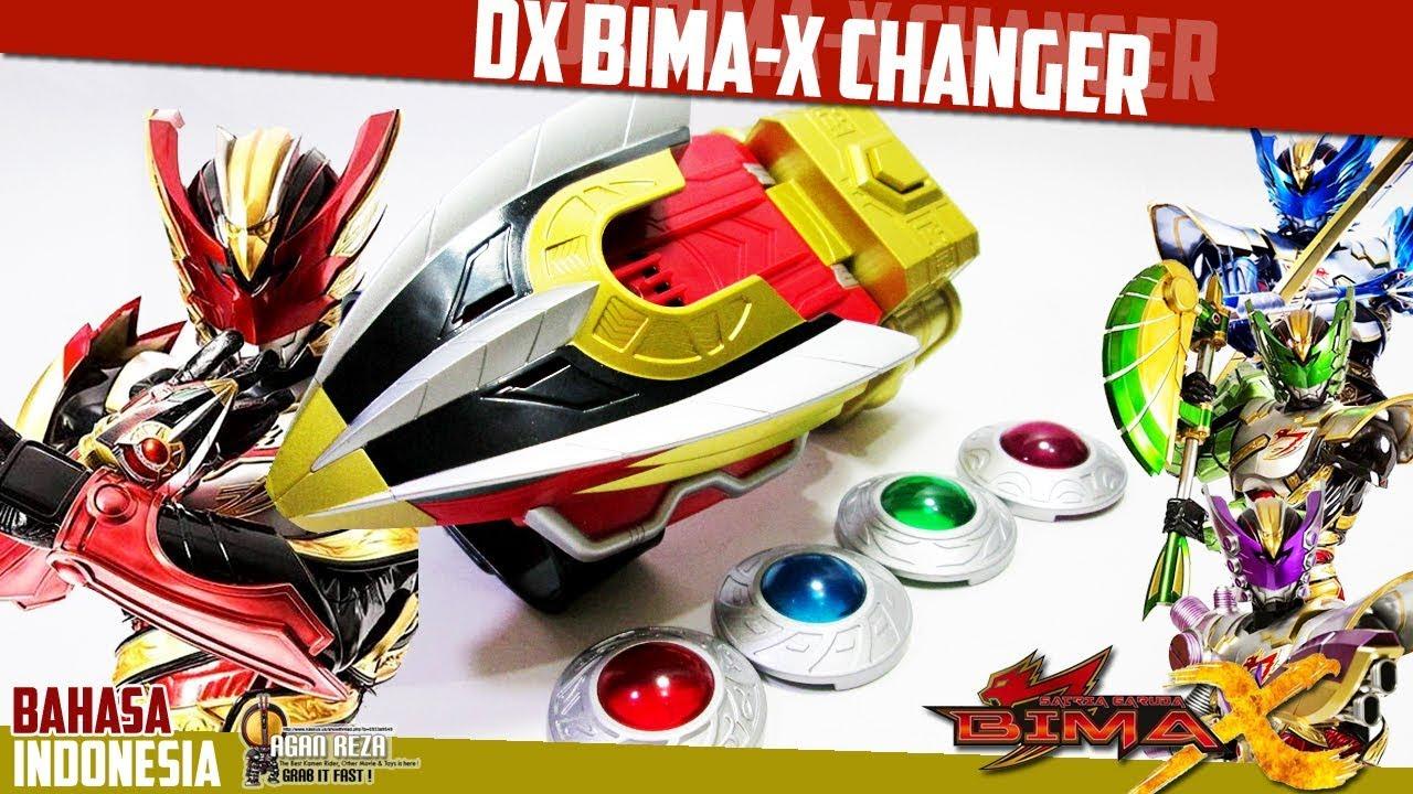 DX REVIEW - DX BIMA-X CHANGER [Satria Garuda Bima-X ...