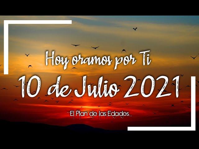 HOY ORAMOS POR TI | JULIO 10 de 2021 |  Oración Devocional | REPOSO