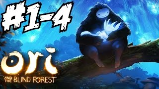 Ori and the Blind Forest Walkthrough Part 1 - 4 Gameplay Let
