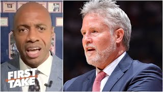 'It's time to go to work, Brett!' – Jay Williams calls out the 76ers' head coach | First Take