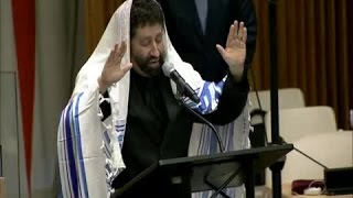 Jonathan Cahn addresses the United Nations: Persecution of Christians - A Global Threat