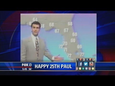Paul marks 25 years at WTVT
